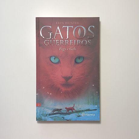 livro gatos guerreiros - fogo e gelo