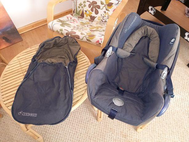 Fotelik nosidło Maxi - Cosi Cabrio śpiworek śpiwór