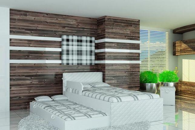 Łóżka dziecięce i młodzieżowe z materacami,łóżko piwtrowe140x80,160x80
