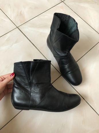 Стильные сапоги, ботинки Vegabond натуральная кожа, осень. 37 размер