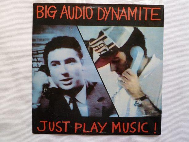 "Big Audio Dynamite ""Just Play Music"" 7"" single"