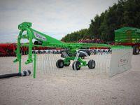 Zgrabiarka INTER-TECH ZKT-420 kauzelowa 4,2 m od ręki TRANSPORT
