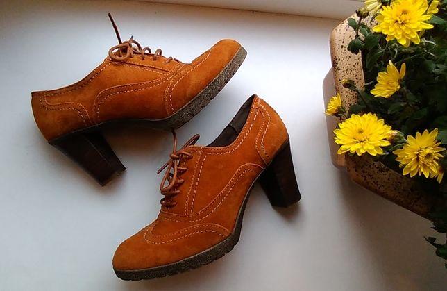 Ботильоны ботинки туфли бренд 5th Avenue