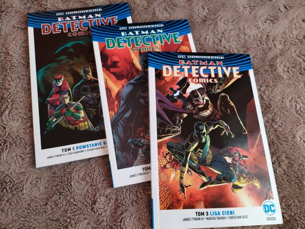 BATMAN Detective Comics 1-3