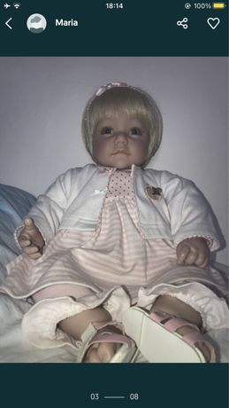 Boneca Bebé Reborn Adora Doll