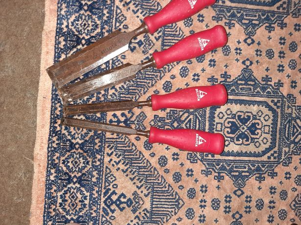 4 formoes para madeira da belotta
