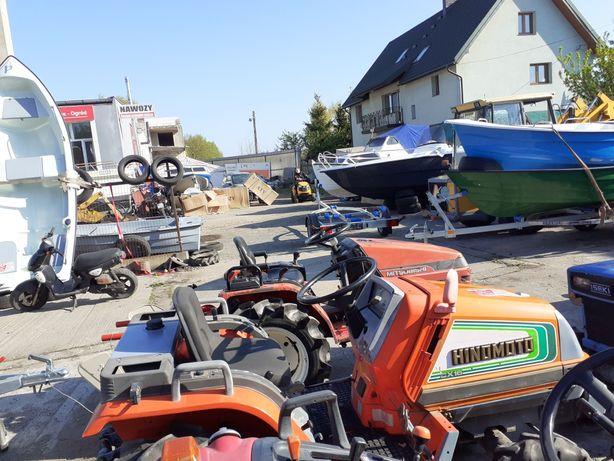 Traktorek 4x4 kubota