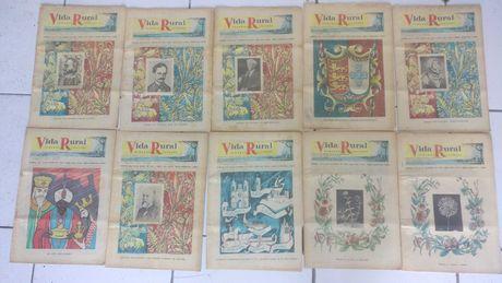 Lote 80 revistas Vida Rural - Anos 50