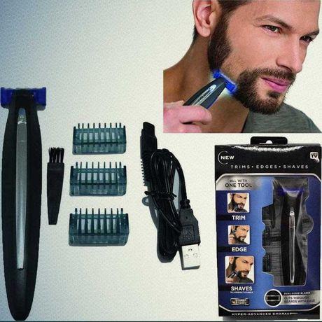 Триммер Micro Touch Solo бритва для мужчин стрижка бороды триммер соло