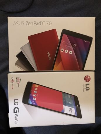 Продам планшеты LG на запчасти Asus