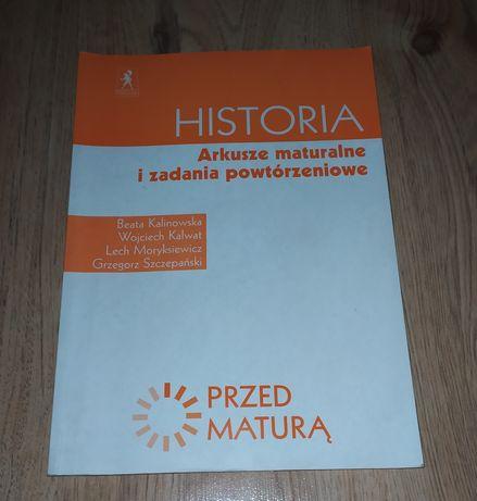 Historia. Arkusze maturalne i zadania powtórzeniowe