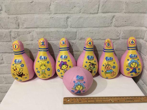игрушки для самых маленьких мягкие кегли 1-1,5-2-3 года