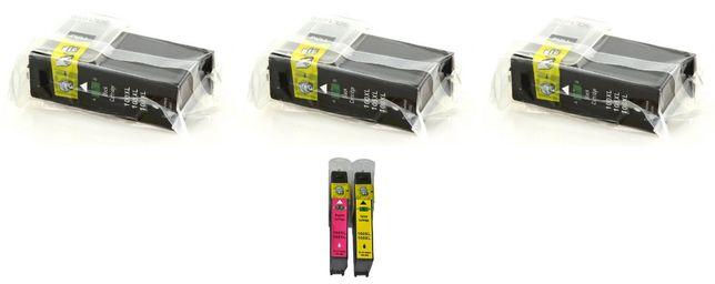 Tusze Lexmark 100XL 105XL 108XL czarny, yellow, magenta 5 szt.