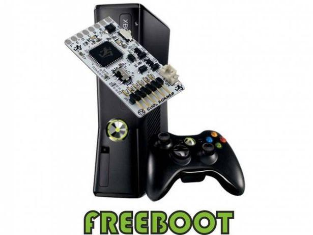 Установка FREEBOOT на XBox 360 / XBox 360 slim, Чиповка, LT 3.0
