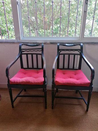 Cadeiras de palhinha antigas