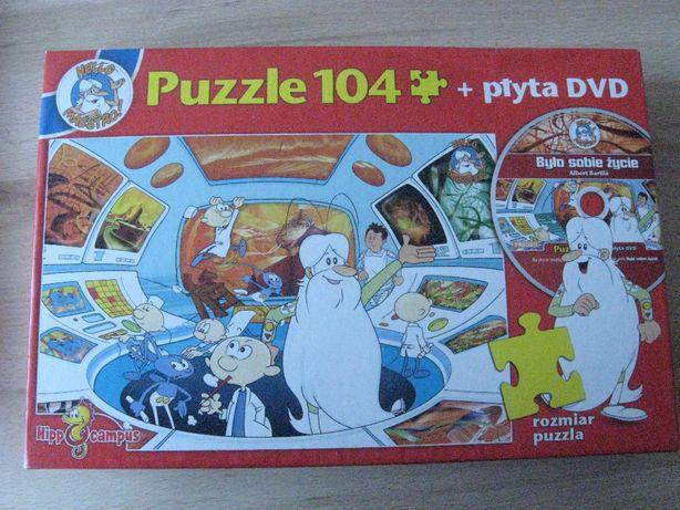 BYŁO SOBIE ŻYCIE Puzzle 104 + płyta DVD