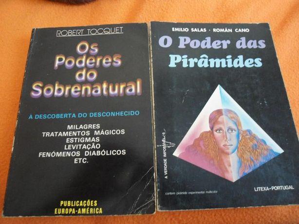 2 Livros de literatura Fantástica