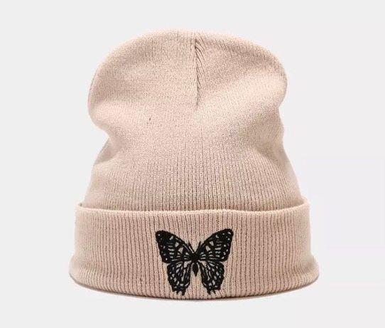 Стильная шапка-бини , новая ( США )