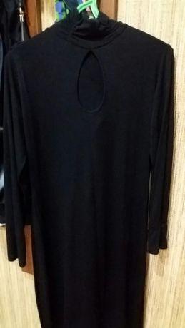 Новое черное платье 48 р.