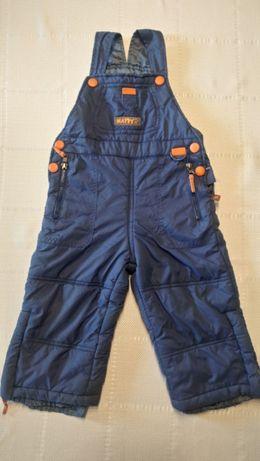 Spodnie zimowe narciarskie firmy Happy Kids roz. +/-3 latka, roz. 98