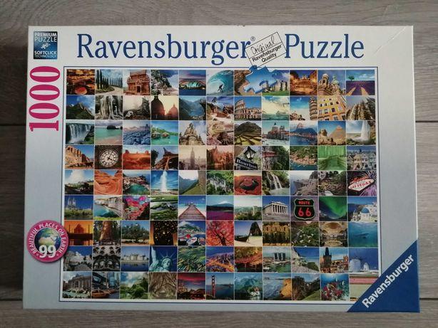 Puzzle Ravensburger (1000 elementów!)