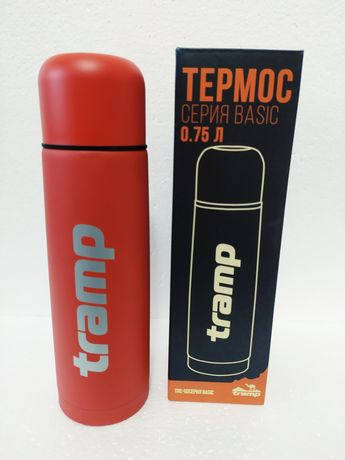 Термос Tramp Basic красный 0,75 л оригинал