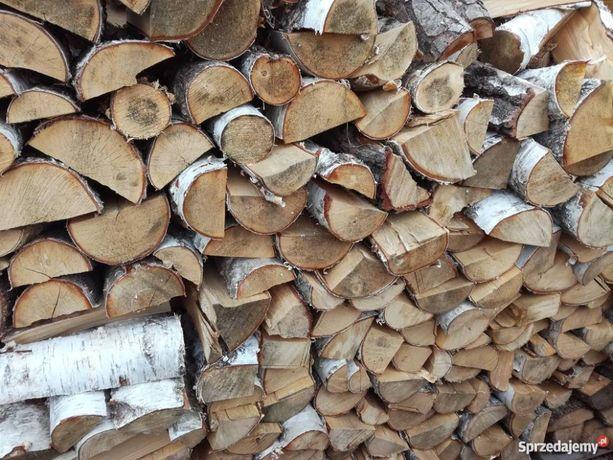 Sprzedam drewno na opał - olcha, brzoza