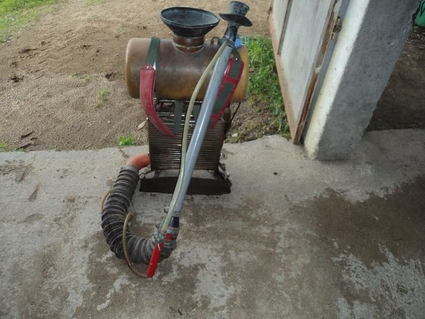 máquina de sulfatar a motor