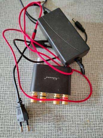 Аудио усилитель NS-10G Bluetooth 4.0, 2 х 50 Вт
