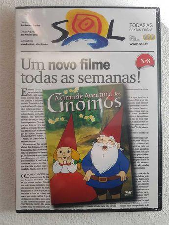 A Grande Aventura dos Gnomos - DVD - Selado