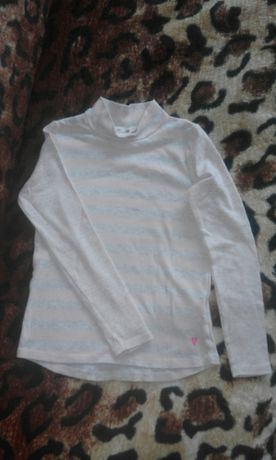 Bluzka półgolf H&M 2 szt r.122