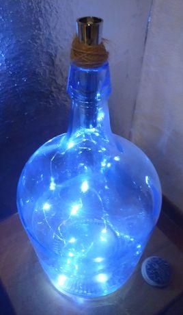 Garrafão com luzes led