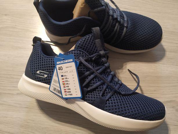 Adidasy Skechers 40 z wkładką memory foam