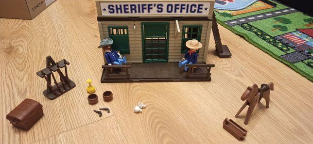 Playmobil UNIKAT Zestaw biuro szeryfa