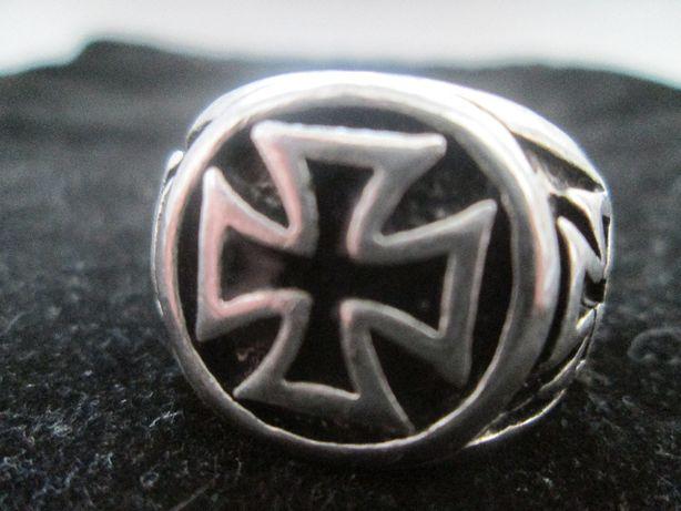 Krzyż Maltański Sygnet zwany też krzyżem żelaznym III Rzeszy