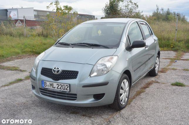 Toyota Yaris 1.3 Benzyna 87 Km, Serwis, 1 Właściciel, Alu, Niemcy