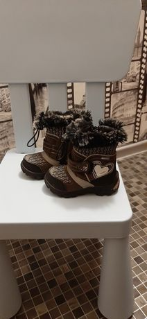Kozaczki buty zimowe Bartek z membraną