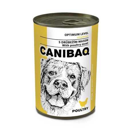 CANIBAQ Classic konserwa dla psa - drób 415g
