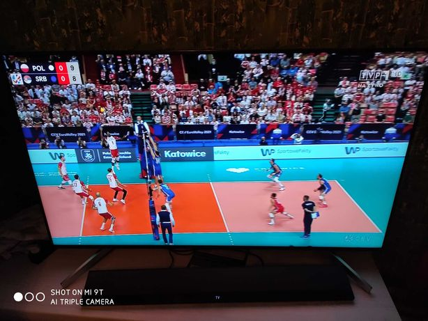 TV sony 55 cali 4k uhd + soundbar + uchwyt scienny