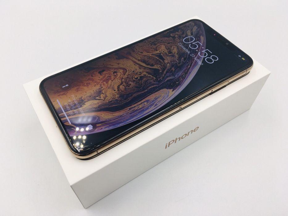 PROMOCJA • iPhone XS MAX 64GB Gold • GWAR 1 MSC • AppleCentrum Wrocław - image 1