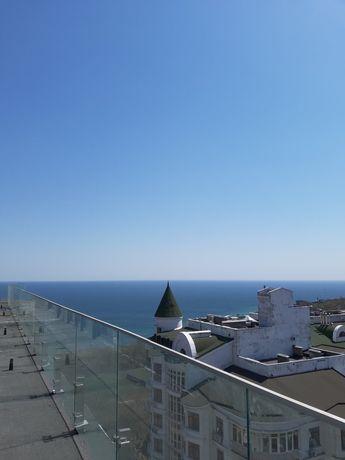 Квартира вцентре Одессы, Граф, Французский, Отрада, терраса, вид моря