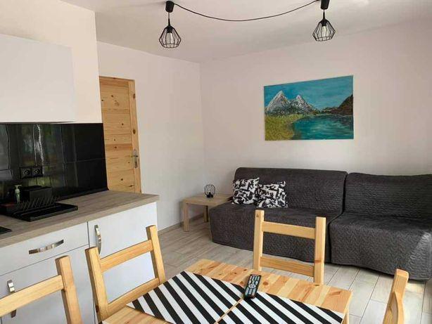 Apartament (2 pokoje) nad jeziorem (okolice Boszkowa)