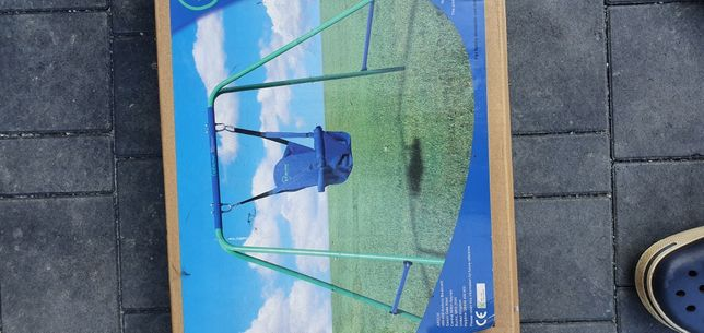 Huśtawka pokojowa dla dziecka 6m- 3l miękkie siedzisko