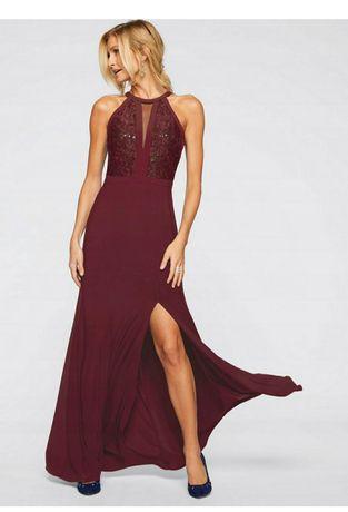 Elegancka wieczorowa suknia 44-46-48,ślub ,wesele ,czarna i bordowa