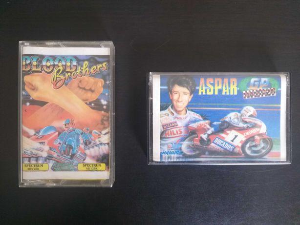 Jogos ZX Spectrum originais da época excelente estado conservação