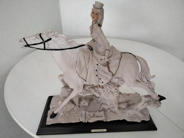 Peça decorativa cavalo