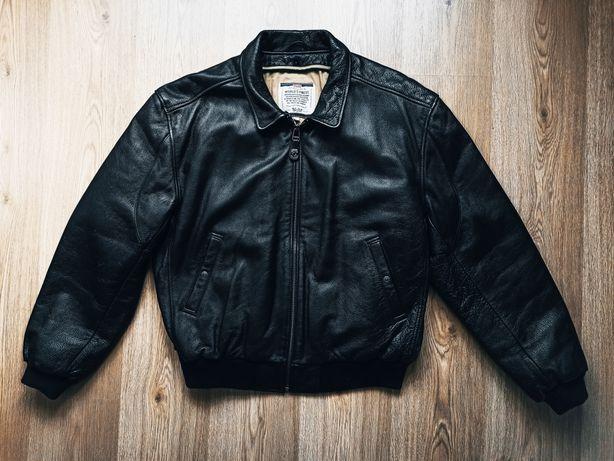 levi's leather jacket kurtka skórzana bomberka
