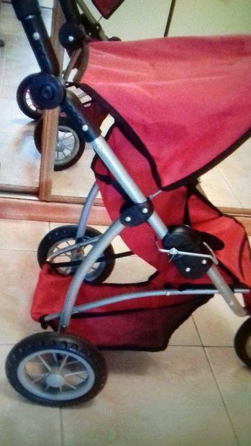 Wózek dla lalek Ikea 3 kolowy