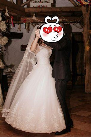 Весільна сукня, плаття, свадьба + подарок