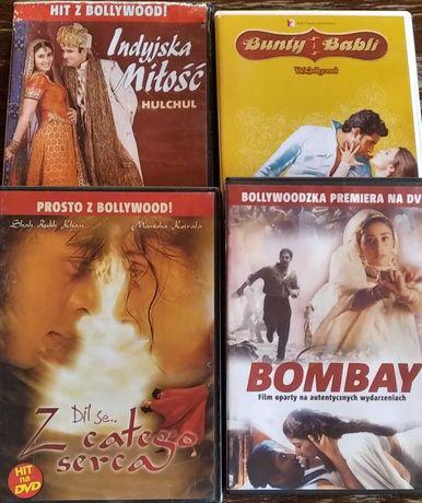 Filmy Bollywood w oryginalnym opakowaniu